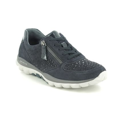 Gabor Trainers - Navy nubuck - 56.968.86 FANTASTIC SPARKLE