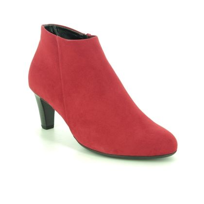 Gabor Heeled Boots - Red - 55.850.55 FATALE