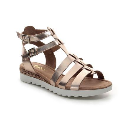 Gabor Gladiator Sandals - Pewter - 22.744.94 FELICITY