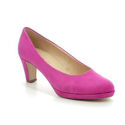 Gabor Heeled Shoes - Fuchsia - 21.260.43 FIGARO