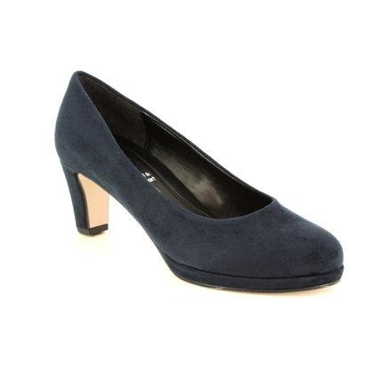 Gabor Heeled Shoes - Navy - 21.260.46 FIGARO