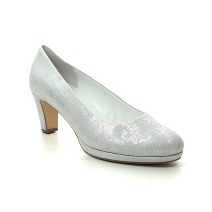 Gabor Court Shoes - Silver - 41.260.61 FIGARO
