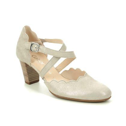 Gabor Heeled Shoes - Gold Metallic - 42.181.95 FIJI