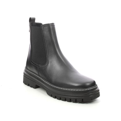 Gabor Chelsea Boots - Black leather - 71.720.27 GAZANIA CHELSEA