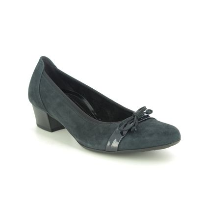 Gabor Court Shoes - Navy suede - 52.205.86 HAYLEY