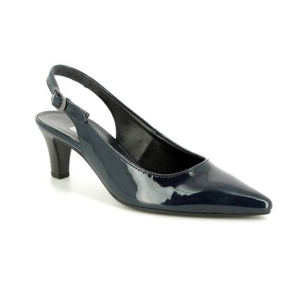 Gabor Slingback Shoes - Navy patent - 21.550.76 HUME 2