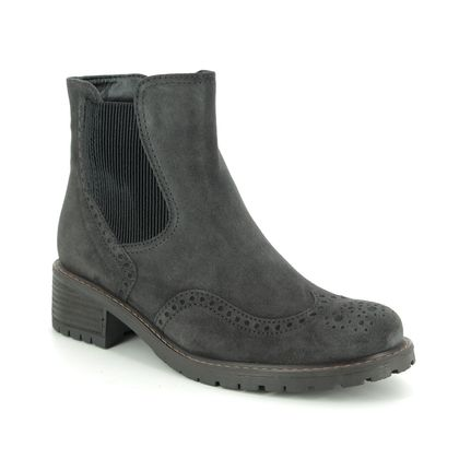 Gabor Chelsea Boots - Grey Suede - 36.091.39 IMAGINE