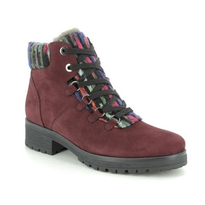 Gabor Ankle Boots - Dark Red - 32.096.95 INNOCENT