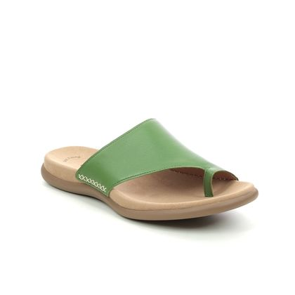 Gabor Toe Post Sandals - Green - 63.700.28 LANZAROTE