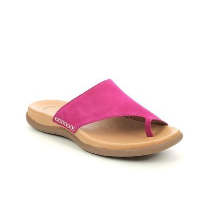 Gabor Toe Post Sandals - Fuchsia - 63.700.52 LANZAROTE