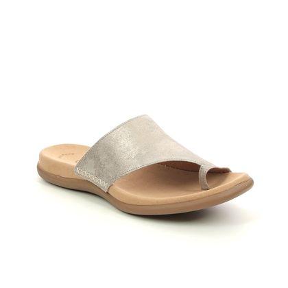 Gabor Toe Post Sandals - Beige - 63.700.62 LANZAROTE