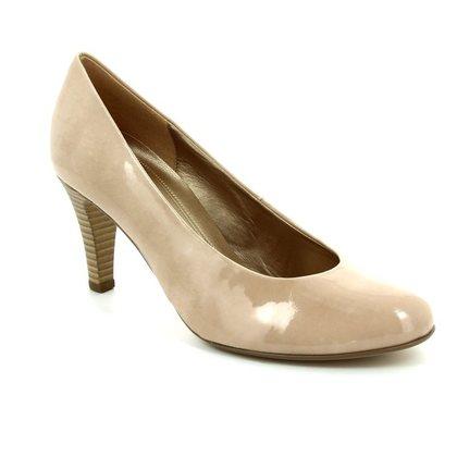 Gabor Court Shoes - Nude Patent - 85.210.72 Lavender