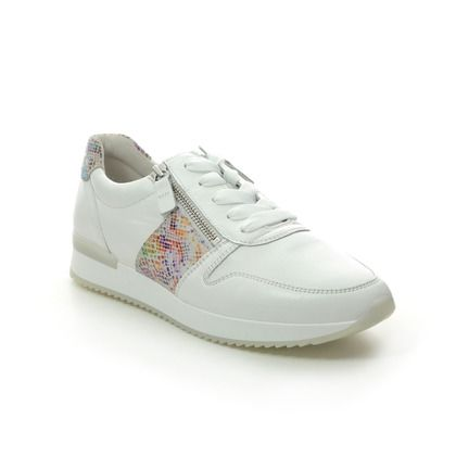 Gabor Trainers - WHITE LEATHER - 43.420.20 LULEA