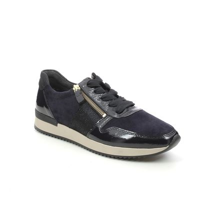 Gabor Trainers - Navy patent-suede - 73.420.36 LULEA