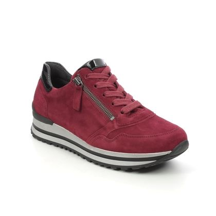 Gabor Trainers - Red suede - 76.528.68 NULON