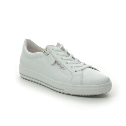 Gabor Trainers - WHITE LEATHER - 46.518.50 OPHELIA