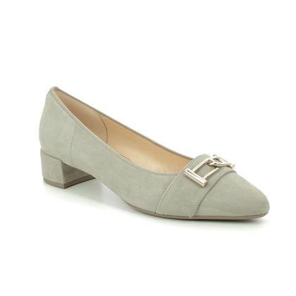Gabor Court Shoes - Light Taupe nubuck - 41.431.12 PLUTO