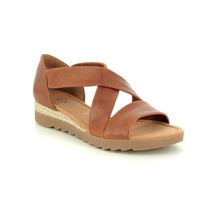 Gabor Comfortable Sandals - Tan - 22.711.55 PROMISE