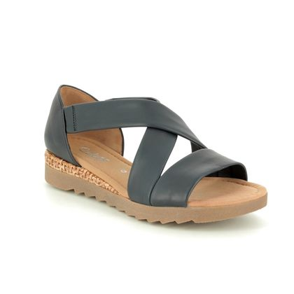 Gabor Comfortable Sandals - Navy - 22.711.85 PROMISE