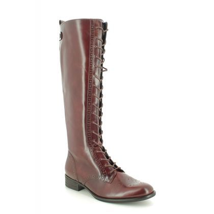 Gabor Knee High Boots - Brown leather - 51.646.24 PROTECT