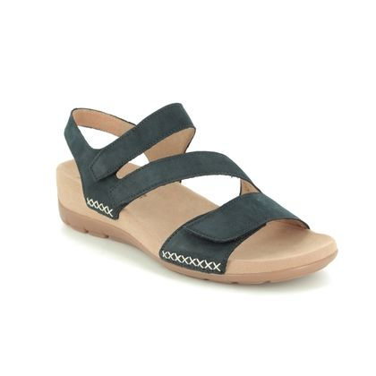 Gabor Comfortable Sandals - Navy nubuck - 43.734.16 TOBIN