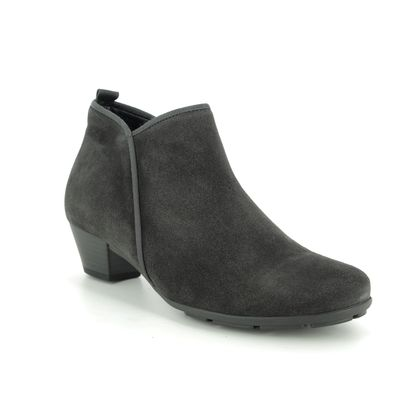 Gabor Ankle Boots - Grey-suede - 35.633.19 TRUDY
