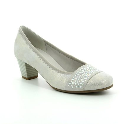 Gabor Court Shoes - Silver - 65.482.61 WALLACE