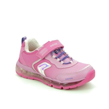 Geox Girls Trainers - Fuchsia - J0245A/C8002 ANDROID GIRL A