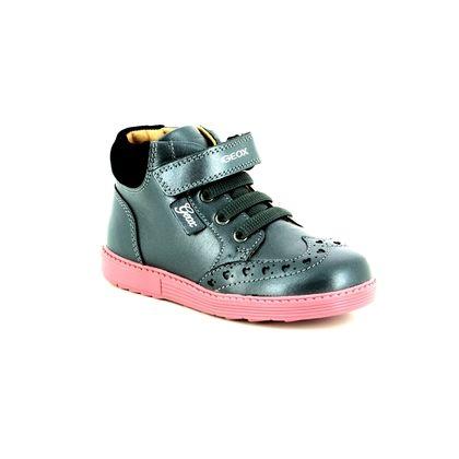 Geox 1st Shoes & Prewalkers - Silver multi - B842FB/C9002 BABY HYNDE GIRL