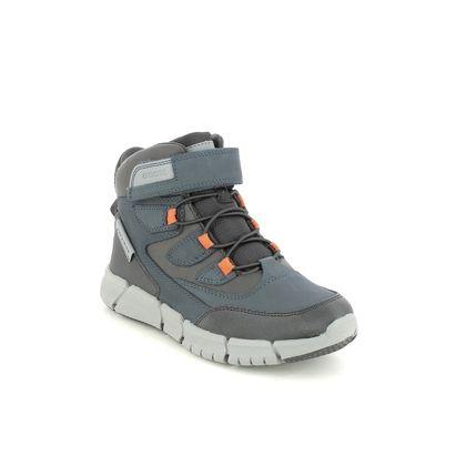 Geox Boys Boots - Navy - J169XA/C0661 FLEXYPER B TEX