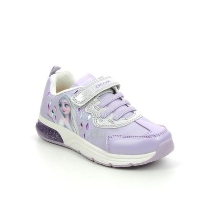 Geox Girls Trainers - Lilac - J158VB/C8456 FROZEN ELSA