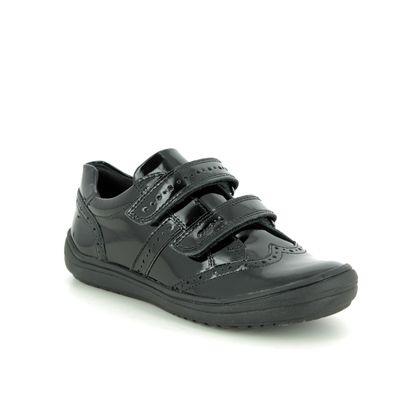 Geox Girls Shoes - Black patent - J947VG/C9999 HADRIEL