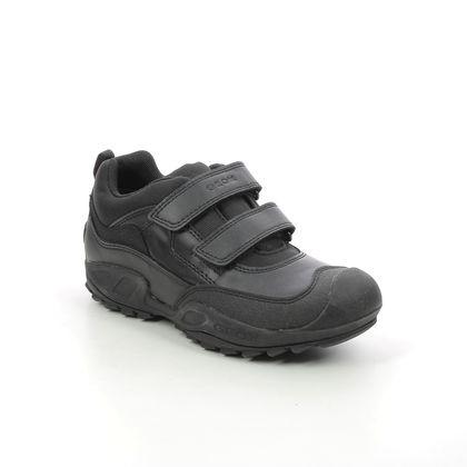 Geox Boys Shoes - Black - J841WB/C9999 NEW SAVAGE TEX