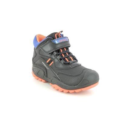 Geox Boys Boots - Black orange - J16CBA/C0038 SAVAGE BOOT TEX