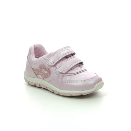 Geox Girls Trainers - PINK - B0233A/C8004 SHAAX BABY GIRL