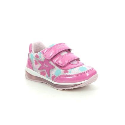 Geox Girls Trainers - Hot Pink - B1585B/C8238 TODO BABY GIRL