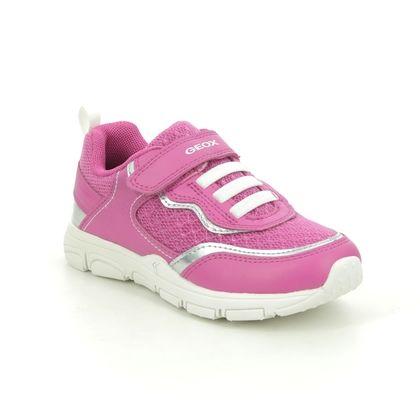 Geox Girls Trainers - Hot Pink - J158HA/C0886 TORQUE GIRL BUNGEE