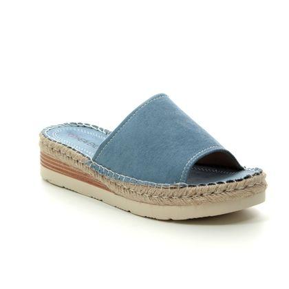 Heavenly Feet Slide Sandals - Denim blue - 9112/72 BELLA