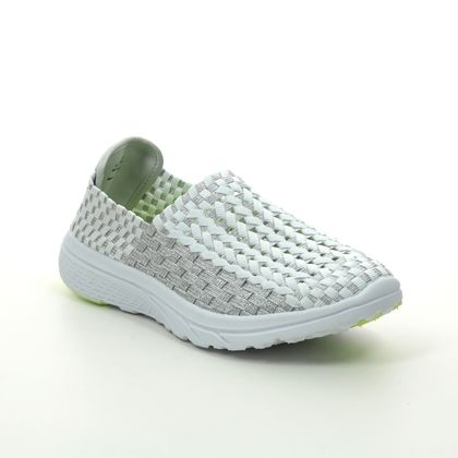 Heavenly Feet Trainers - White-silver - 0107/80 COSMOS 2