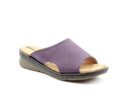 Heavenly Feet Slide Sandals - Purple - 0102/95 GINGER