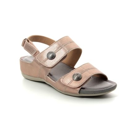 Heavenly Feet Comfortable Sandals - Rose gold - 9117/51 PENNY