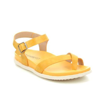 Heavenly Feet Flat Sandals - Yellow - 0112/08 RIVER