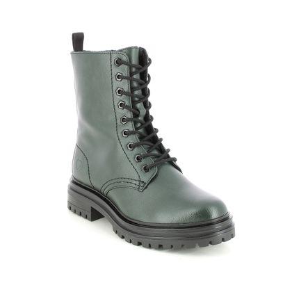 Heavenly Feet Biker Boots - Green - 1505/86 TAYLOR