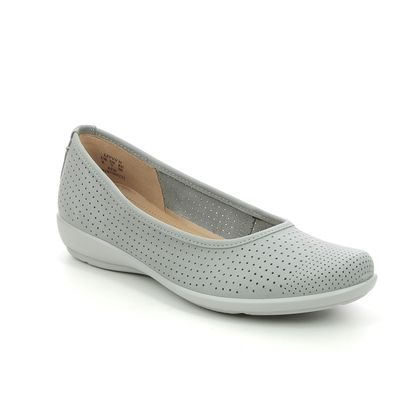 Hotter Pumps - Light Grey Nubuck - 9915/03 LIVVY 2 STD
