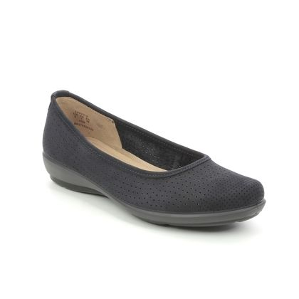 Hotter Pumps - Navy nubuck - 9915/70 LIVVY 2 STD
