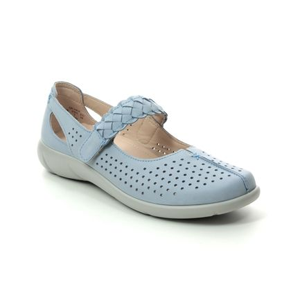 Hotter Mary Jane Shoes - Pale blue - 0106/71 QUAKE  E FIT