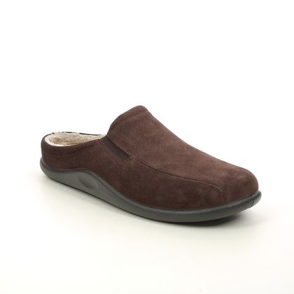 Hotter Slippers & Mules - Chocolate brown - 8517/27 SLIDE
