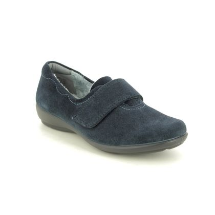 Hotter Slippers & Mules - Navy - 0502/70 TOASTY 05