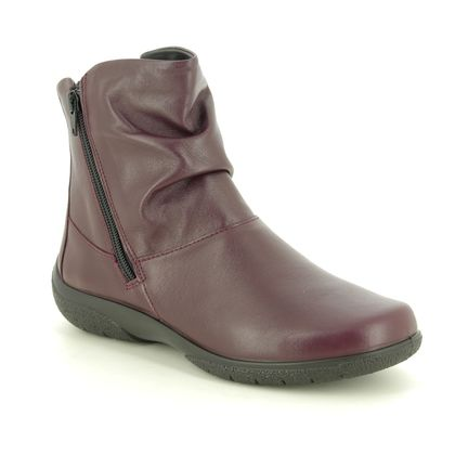 Hotter Boots - Ankle - Wine leather - 9503/81 WHISPER 95 E