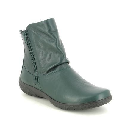 Hotter Fashion Ankle Boots - Green - 9503/75 WHISPER E FIT